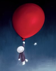 Star Gazer by Doug Hyde - Limited Edition on Paper sized 14x18 inches. Available from Whitewall Galleries
